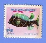Stamps Equatorial Guinea -    PEZ  COFRE  AZUL