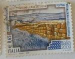 Stamps : Europe : Italy :  Vallo di Adriano- Gran Bretagna