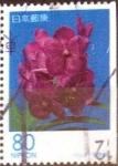 sellos de Asia - Japón -  Scott#Z272a intercambio 1,75 usd 80+80 y. 1999