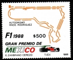 Stamps Mexico -  Fómula 1