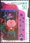 sellos de Asia - Japón -  Scott#Z250 intercambio 0,50 usd 50 y. 1998