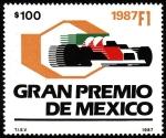 Sellos del Mundo : America : México : Gran premio de México
