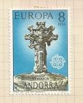 Stamps Europe - Andorra -  Europa
