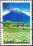 Stamps Japan -  Scott#Z205 intercambio 0,75 usd 80 y. 1997