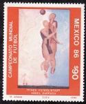 Stamps Mexico -  México 86