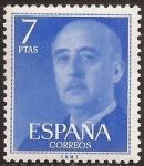 Sellos del Mundo : Europa : España : General Franco  1974  7 ptas