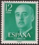 Sellos del Mundo : Europa : España : General Franco  1974  12 ptas