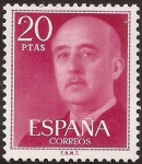 Sellos del Mundo : Europa : España : General Franco  1974  20 ptas