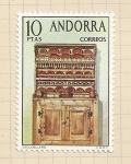 Stamps Andorra -  Artesanía