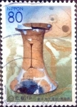 Stamps of the world : Japan :  Scott#Z496 intercambio 0,75 usd 80 y. 2001