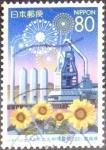 Stamps Japan -  Scott#Z508 intercambio 0,75 usd 80 y. 2001