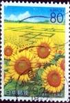 Stamps Japan -  Scott#Z540 intercambio 0,95 usd 80 y. 2002