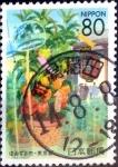 Stamps Japan -  Scott#Z555 intercambio 1,00 usd 80 y. 2002
