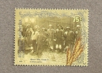Sellos de America - Argentina -  Colonos judíos Santa Fé