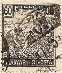 Stamps Hungary -  MAGYAR KIR POSTA