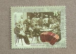 Stamps of the world : Argentina :  Inmigrantes alemanes