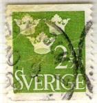 Stamps of the world : Sweden :  Sverige