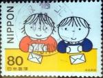 Stamps Japan -  Scott#2628 intercambio 0,40 usd 80 y. 1998