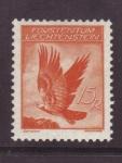 Stamps Europe - Liechtenstein -  serie AGUILAS