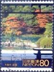 Sellos de Asia - Japón -  Scott#2763h intercambio 0,40 usd 80 y. 2001