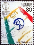 Stamps of the world : Japan :  Scott#2818 intercambio 0,95 usd 80 y. 2002