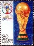 sellos de Asia - Japón -  Scott#2819 intercambio 0,95 usd 80 y. 2002