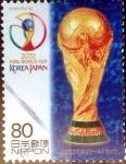 Stamps Japan -  Scott#2819 intercambio 0,95 usd 80 y. 2002