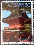 Stamps Japan -  Scott#2821b intercambio 1,40 usd 80 y. 2002