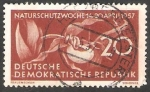 Stamps : Europe : Germany :  288 - Orquídea