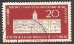 Stamps Germany -  368 - 400 Anivº de la Universidad Friedrich Schiller de Jena