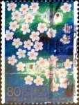 Stamps of the world : Japan :  Scott#2833 intercambio 1,00 usd 80 y. 2002