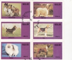 Stamps  -  -  NAGALAND-intercambio
