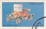 Stamps Nagaland -  coche de época-Ford T
