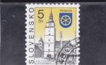 Sellos del Mundo : Europa : Eslovaquia : iglesia de Trnava