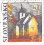 Sellos del Mundo : Europa : Eslovaquia : iglesia