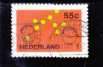 Sellos del Mundo : Europa : Holanda : ILUSTRACIÓN NIÑOS