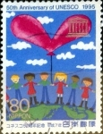 Stamps of the world : Japan :  Scott#2503 intercambio 0,40 usd 80 y. 1995