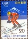 Stamps Japan -  Scott#1103 intercambio 0,20 usd 20 y. 1972