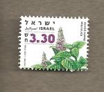 Sellos de Asia - Israel -  Menta piperita