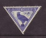 Stamps Iceland -  halcon