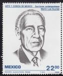 sellos de America - México -  ARTE Y CIENCIA DE MÉXICO -Martin Luis Guzman