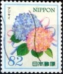 Stamps Japan -  Scott#3827c intercambio 1,10 usd 82 y. 2015