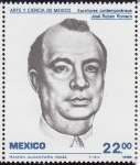 Sellos del Mundo : America : México : ARTE Y CIENCIA DE MÉXICO-Jose Ruben Romero