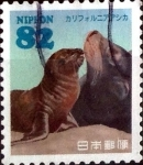 Stamps of the world : Japan :  Scott#3787e intercambio 1,10 usd 82 y. 2015