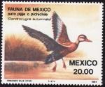 Sellos del Mundo : America : México : Pato Pijije
