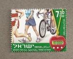 Stamps Israel -  Deporte para todos