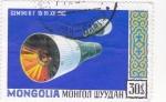 Sellos del Mundo : Asia : Mongolia :  aeronautica