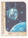 Stamps : Asia : Laos :  aeronautica- satélite