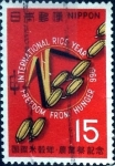 Stamps of the world : Japan :  Scott#902 intercambio, 0,20 usd 15 y, 1966