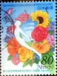 Stamps of the world : Japan :  Scott#2829 intercambio, 1,00 usd 80 y, 2002